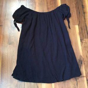 Full Tilt Off The Shoulder Dress Black Small